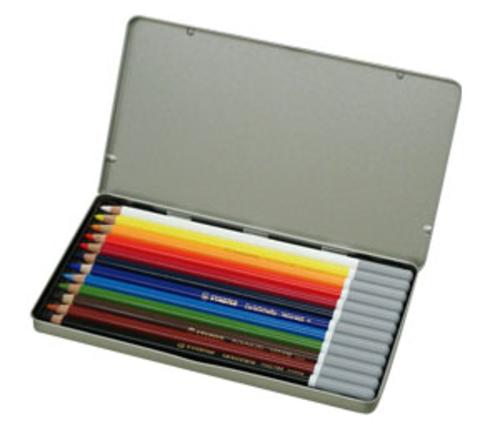 スタビロ カーブオテロ パステル色鉛筆 12色セット