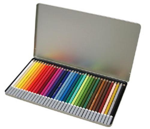スタビロ カーブオテロ パステル色鉛筆 36色セット
