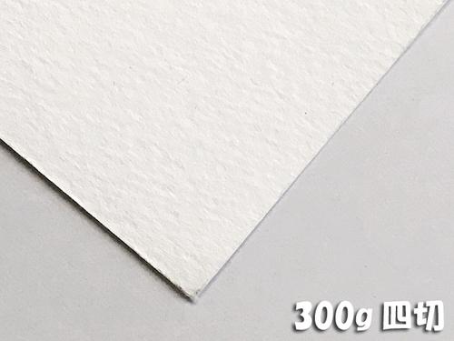 ホワイトワトソン水彩紙(超特厚口・300g)4/6判四切:20枚