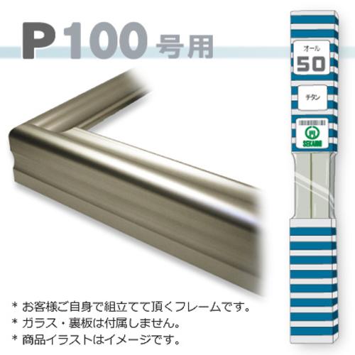 オール50<チタン> P100