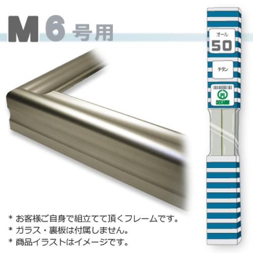 オール50<チタン> M6