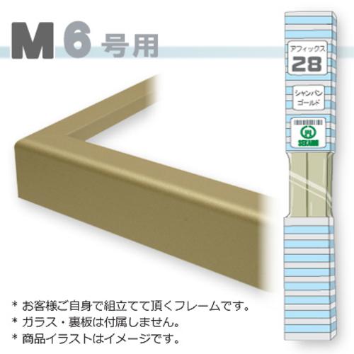 アフィックス28<シャンパンゴールド> M6