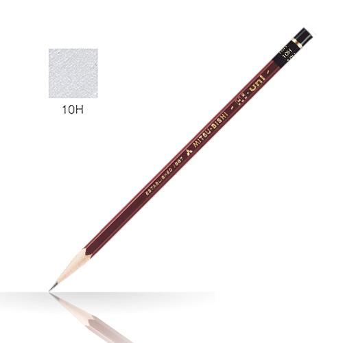 三菱 ハイユニ鉛筆 10H