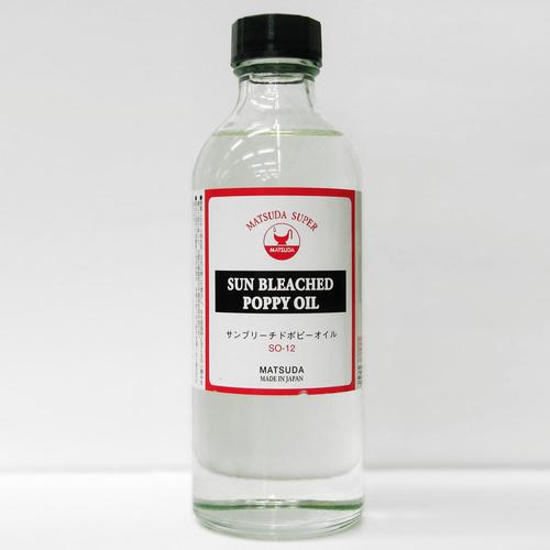 マツダ スーパー画用液 サンブリーチュドポッピーオイル 250ml