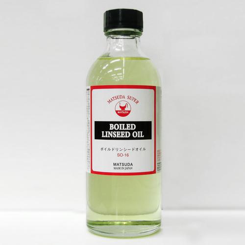 マツダ スーパー画用液 ボイルドリンシードオイル 250ml