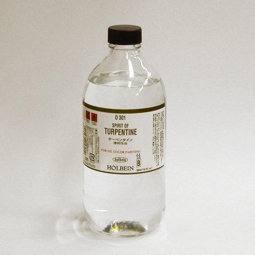 ホルベイン 画用液 ターペンタイン 500ml(O301)