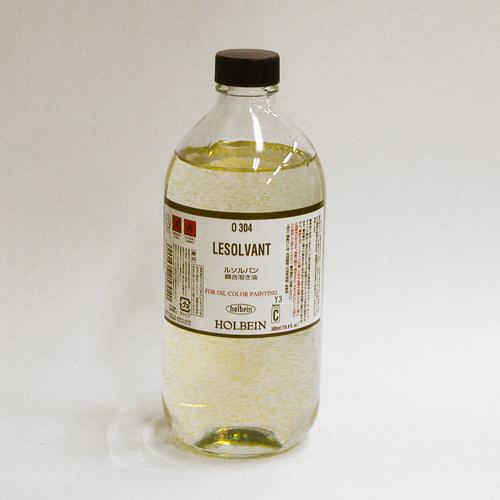 ホルベイン 画用液 ルソルバン 500ml(O304)