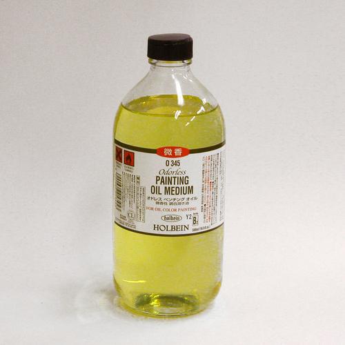 ホルベイン 画用液 オドレスペンチングオイル 500ml(O345)