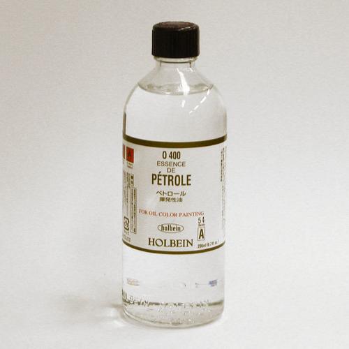 ホルベイン 画用液 ペトロール 200ml(O400)