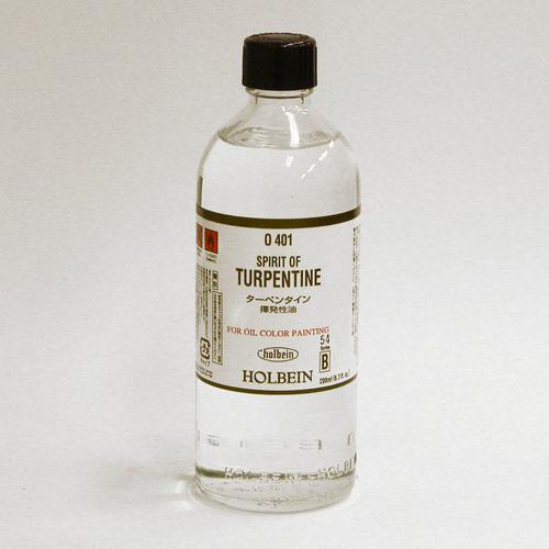 ホルベイン 画用液 ターペンタイン 200ml(O401)