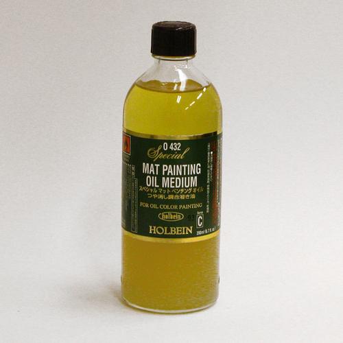 ホルベイン 画用液 スペシャル[マット]ペンチングオイル 200ml(O432)