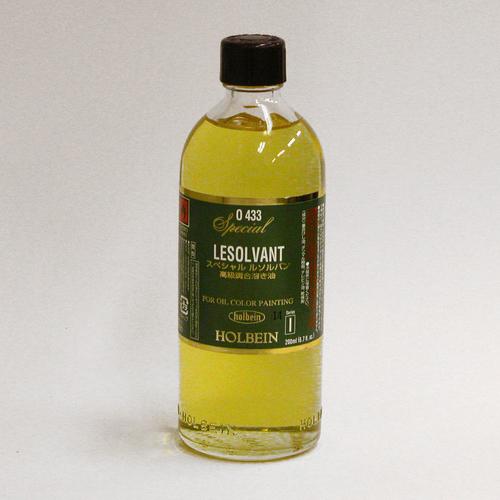 ホルベイン 画用液 スペシャルルソルバン 200ml(O433)