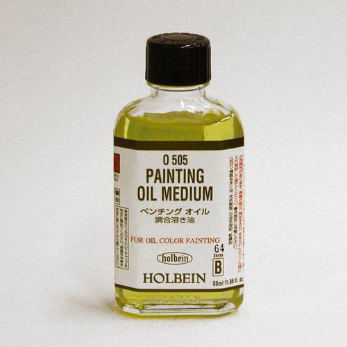 ホルベイン 画用液 ペンチングオイル 55ml(O505)
