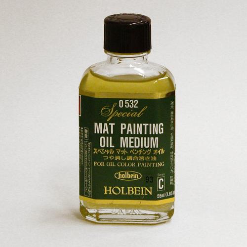 ホルベイン 画用液 スペシャル[マット]ペンチングオイル 55ml(O532)