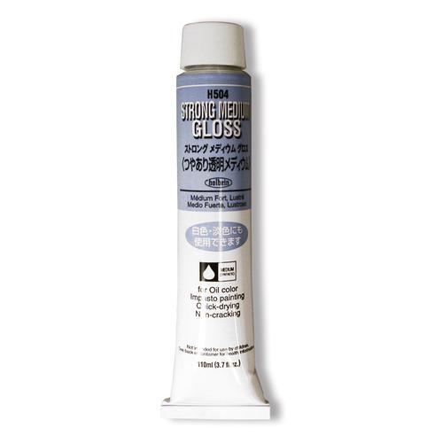 ホルベイン 画用液 ストロングメディウム[グロス] 20号(H504)