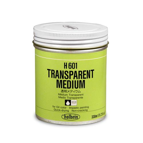ホルベイン 画用液 透明メディウム 330ml缶(H601)