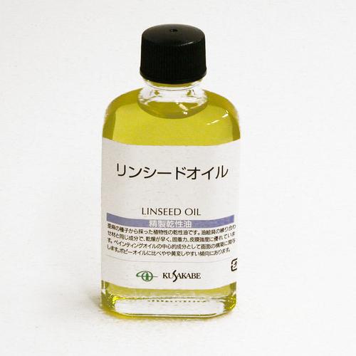 クサカベ 画用液 リンシードオイル 55ml