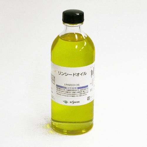 クサカベ 画用液 リンシードオイル 250ml
