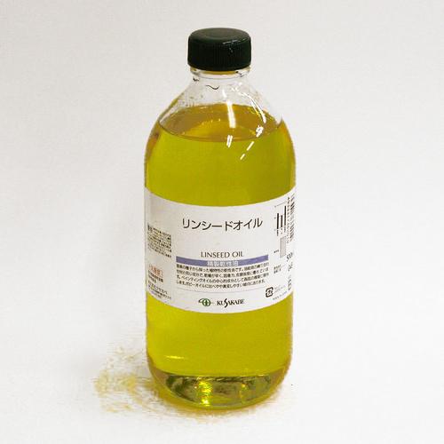 クサカベ 画用液 リンシードオイル 500ml