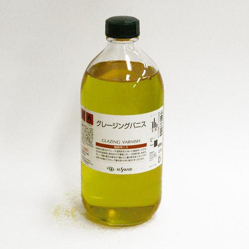 クサカベ 画用液 グレージングバニス 500ml