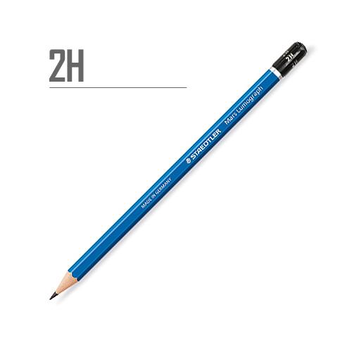 ステッドラー マルスルモグラフ製図用鉛筆 2H