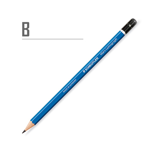 ステッドラー マルスルモグラフ製図用鉛筆  B