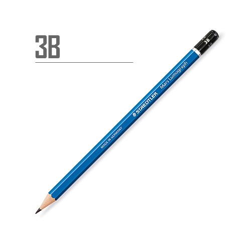 ステッドラー マルスルモグラフ製図用鉛筆 3B