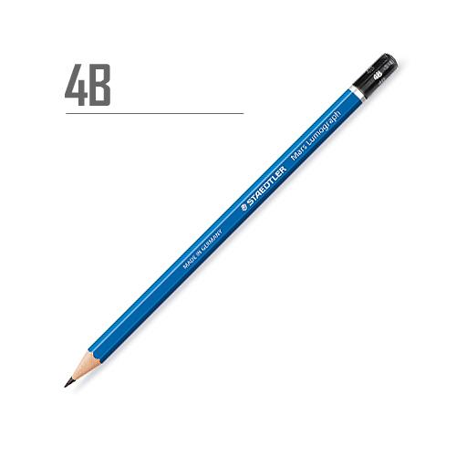 ステッドラー マルスルモグラフ製図用鉛筆 4B