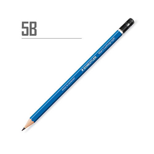 ステッドラー マルスルモグラフ製図用鉛筆 5B