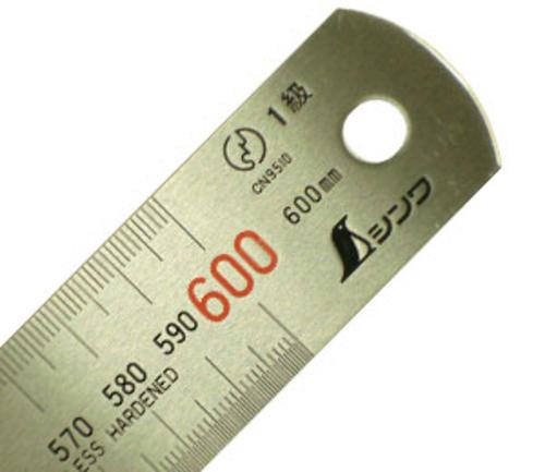 シンワ ステンレス定規 60cm