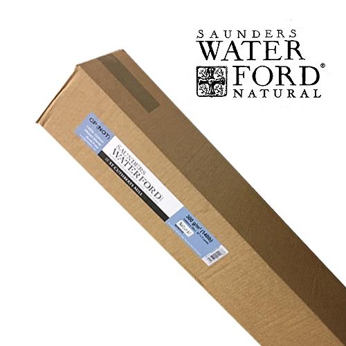 【ロール】ウォーターフォード水彩紙ナチュラル(300g)中目 1.52x10m巻