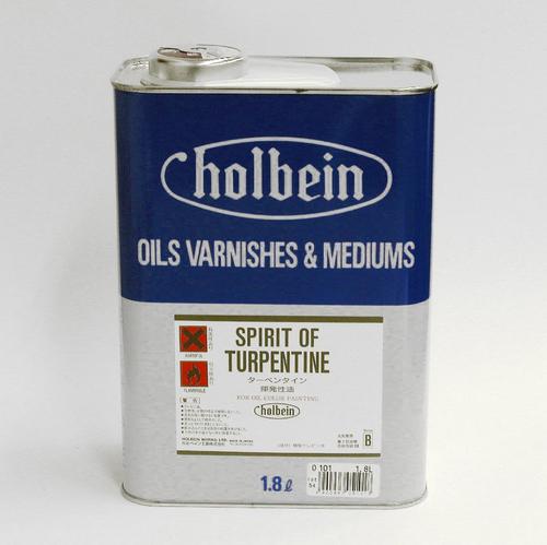 ホルベイン 画用液 ターペンタイン 1.8L(O101)