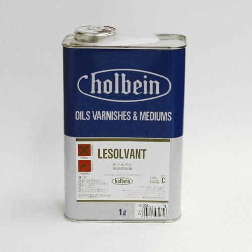 ホルベイン 画用液 ルソルバン 1L(O204)