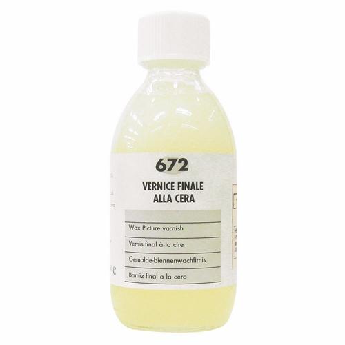 マイメリ画用液 672ワックスピクチャーワニス250ml