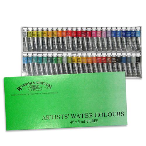 W&N プロフェッショナル水彩 2号 48色セット(紙箱)