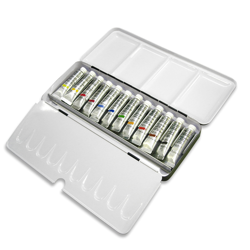 W&N プロフェッショナル水彩 2号 12色ライトウェイトメタルBOX