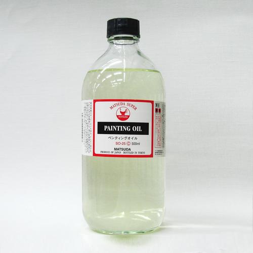 マツダ スーパー画用液 ペンティングオイル 500ml