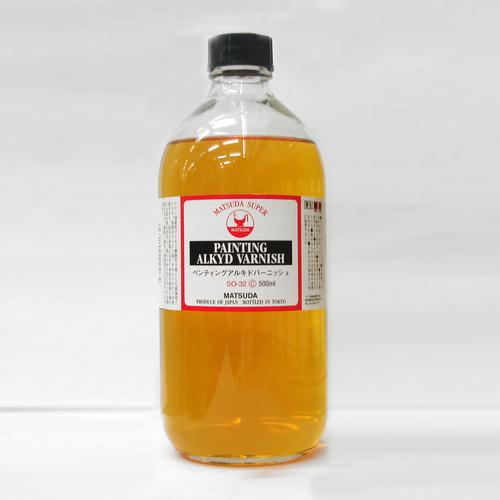 マツダ スーパー画用液 ペンティングアルキドバニス 500ml