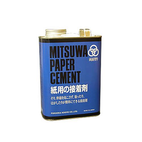 ミツワ ペーパーセメント[W]1570cc 大缶
