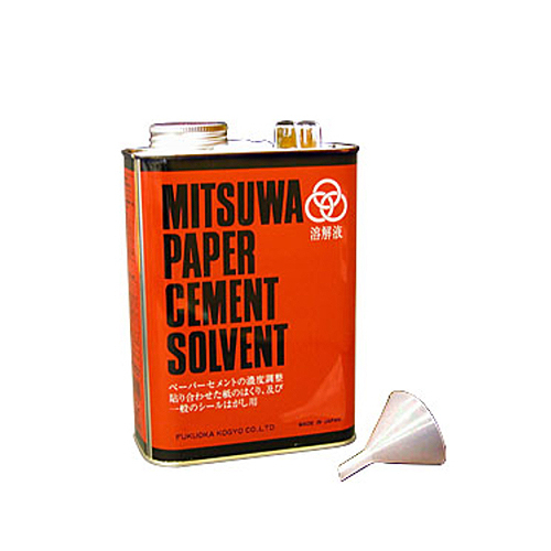 ミツワ ペーパーセメント[ソルベント]1570cc 大缶
