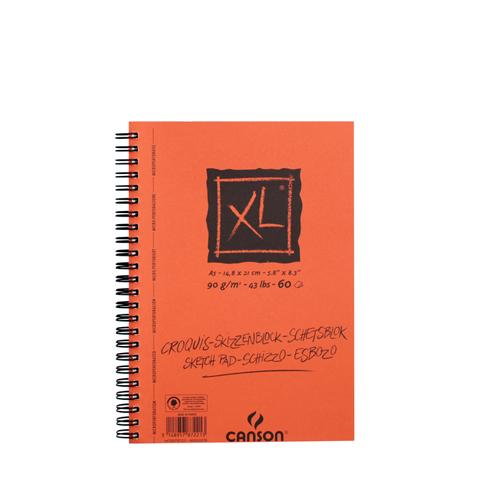 キャンソン XLクロッキー A5(長辺とじ)