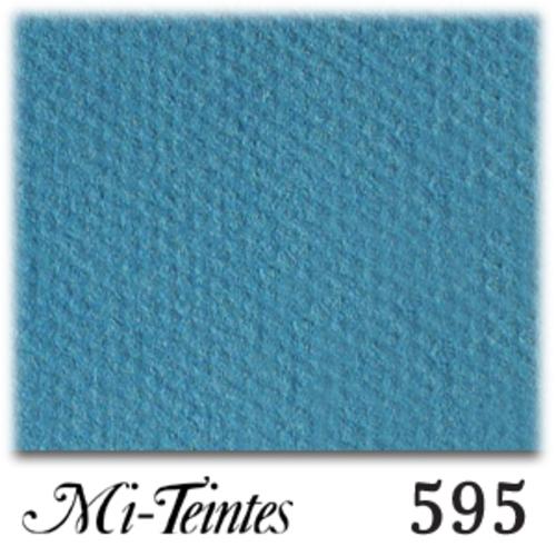 キャンソン・ミ・タント A4(10枚入) 595 ターコイズブルー
