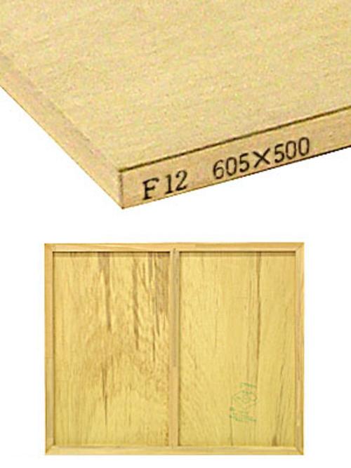 木製パネル F12
