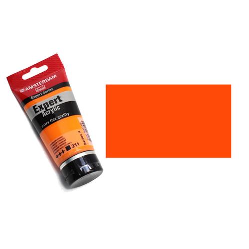 アムステルダム アクリリックカラーエキスパート75ml 211カドミウムオレンジ
