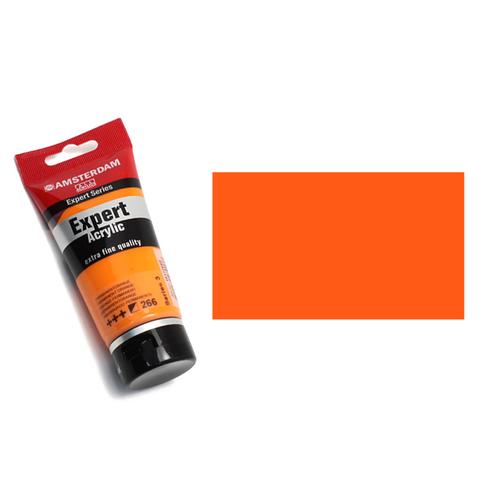 アムステルダム アクリリックカラーエキスパート75ml 266パーマネントオレンジ