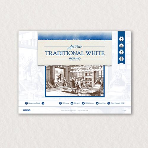 ファブリアーノ トラディショナルホワイトブロック F4 【荒目】 FT-4904