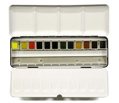 ラウニー アクアファイン ハーフパン 12色セット(メタルボックス)