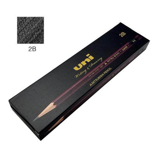 三菱 ユニ鉛筆 2B【ダース】※紙箱入