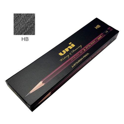三菱 ユニ鉛筆 HB【ダース】※紙箱入