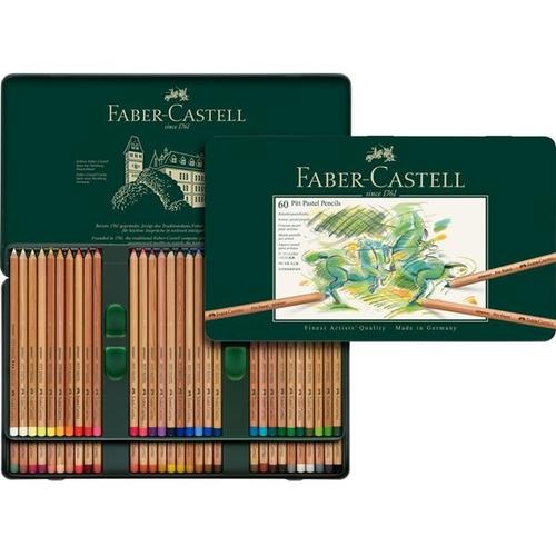 ファーバーカステル ピットパステル鉛筆 60色セット